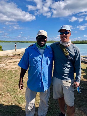 Governor's Harbour, Eleuthera: Paul and Deran