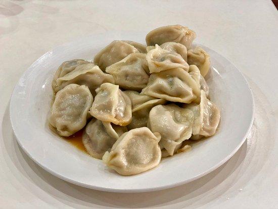 Mount Eden, Nieuw-Zeeland: Barilla Dumpling pork & chives dumpling