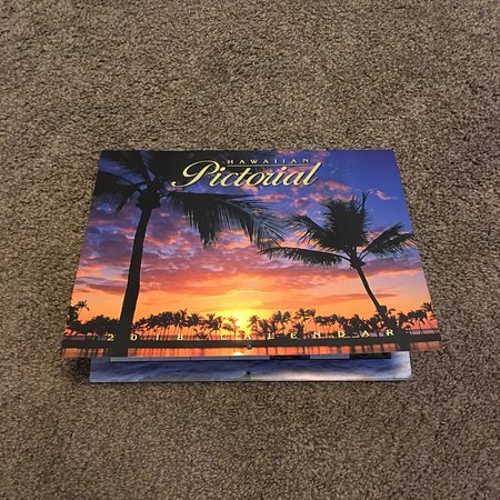2018 hawaii pictorial calendar picture of abc stores lahaina