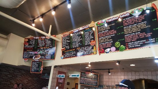 Dj S Bagel Cafe Fountain Hills Menu