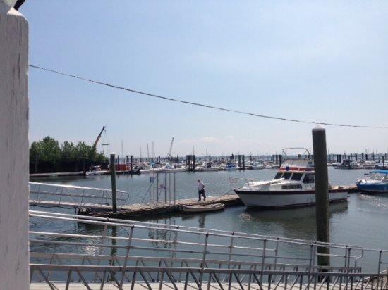 City Island, NY: Boat dock