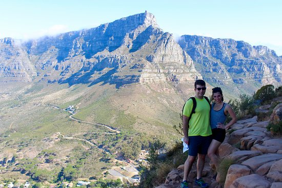 Mother City Hikers: Table Mountain in the backdrop.
