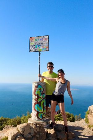 Mother City Hikers: Top of Lion's Head!