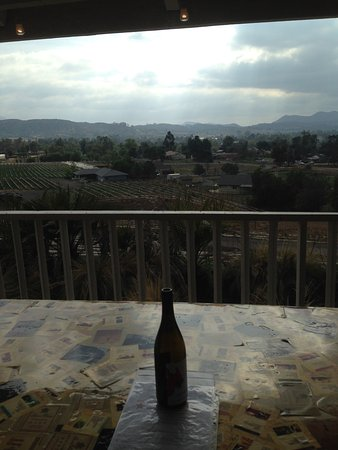 Lenora Winery: View from the deck