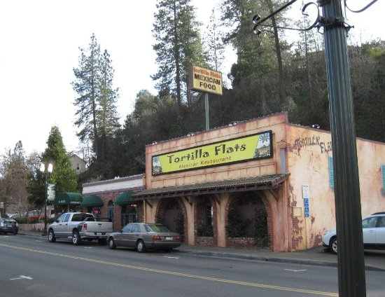 Placerville, Kalifornien: Antique building from gold rush days
