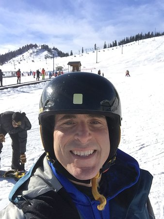 Summit at Snoqualmie (Ski and Snowboard Area): On the snow!