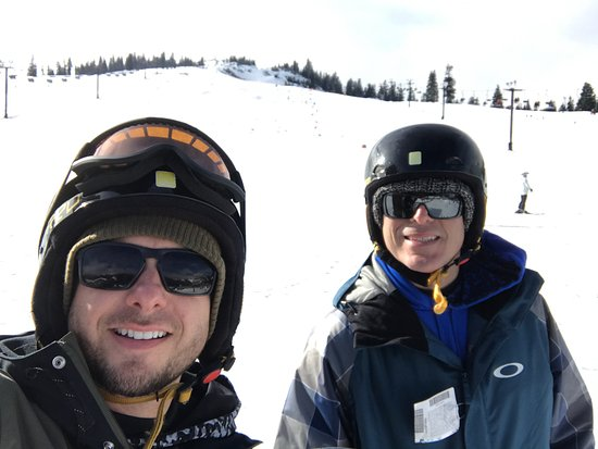 Summit at Snoqualmie (Ski and Snowboard Area): Us on the snow.