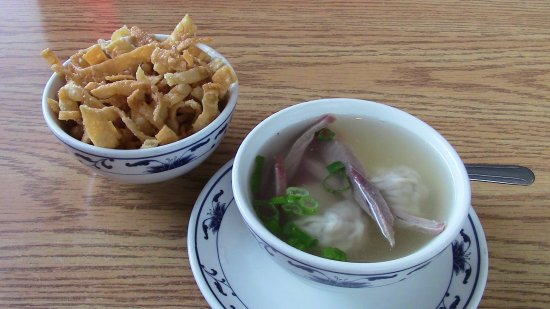 Belle Chasse, لويزيانا: Won Ton Soup