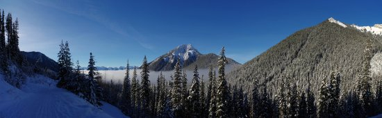 Golden, Kanada: Canadian Rockies, snowmovile tour with White N'Wild