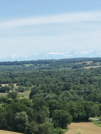 Gramont, France : View from the hotel
