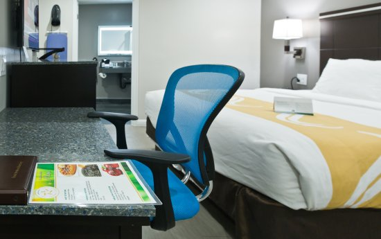 Quality Inn Hayward Hotel: SINGLE KING BED HANDICAPPED NON SMOKING ROOM