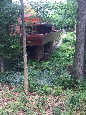 Frank Lloyd Wright designed home for Gregor S. and Elizabeth B. Affleck - Bloomfield Hills, MI