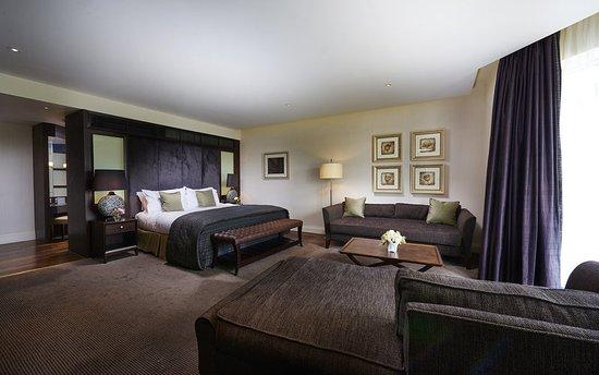 Rockliffe Hall: Guest room