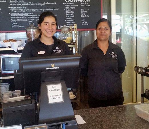 Taipa, New Zealand: Maddy and Ngahuka - two of the great team