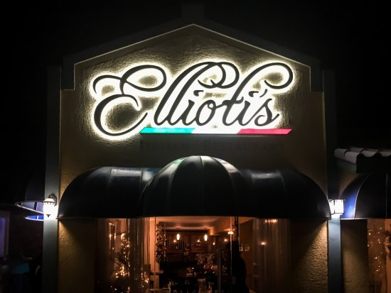 Ellioti's Ristorante Italiano: Welcome to Ellioti's Restorante Italiano