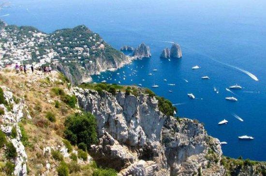 Passeio a pé em Capri e Anacapri