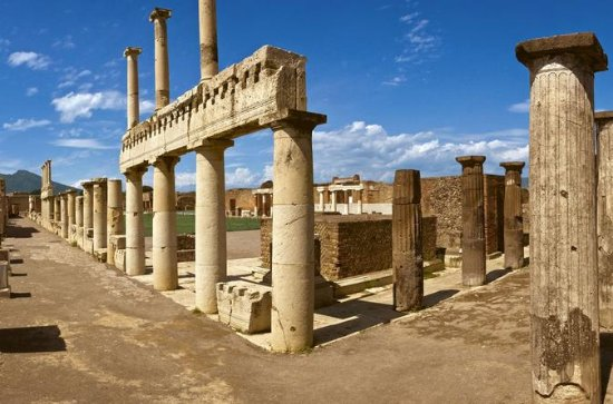 Pompeii and Vesuvius full-day tour...