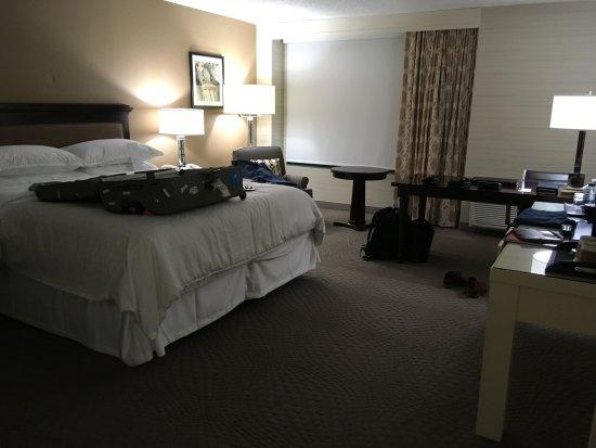 Sheraton San Jose Hotel: Literie super confortable