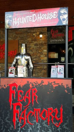 Fear Factory Queenstown: follow the red light , keep moving forward...