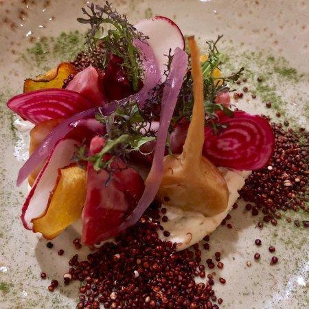 San Mateo, CA: beet salad