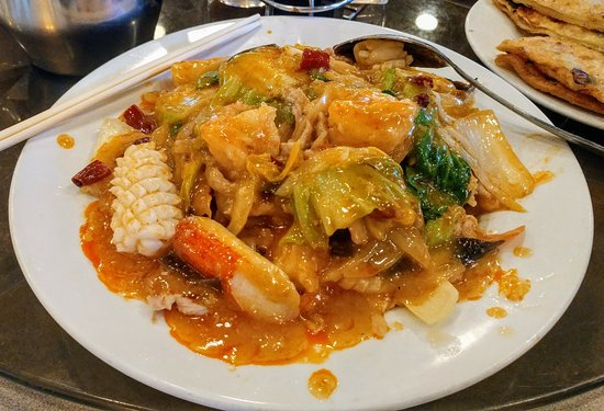Hacienda Heights, Kalifornien: Combination chow mein