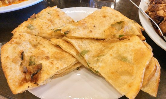 Hacienda Heights, CA: Green onion pan cake