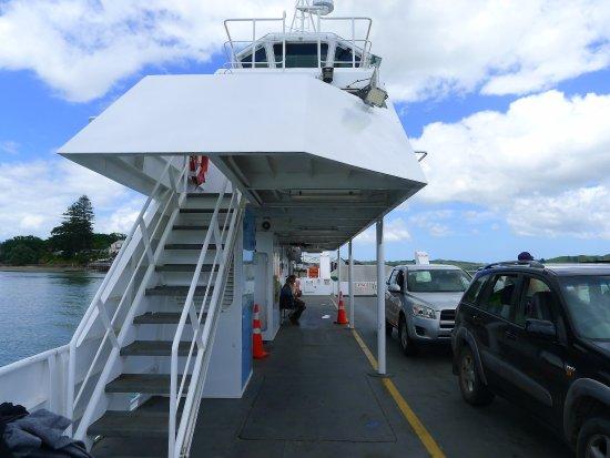 Kohukohu, New Zealand: The ferry to Rawene