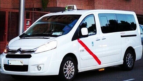 Taxi 7 Plazas Madrid