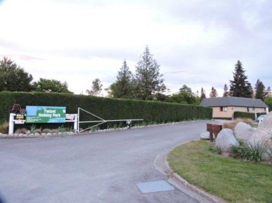 Twizel, نيوزيلندا: ACCESO AL CAMPAMENTO