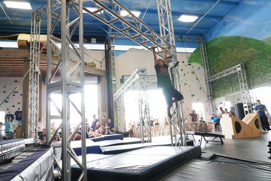 Каилуа-Кона, Гавайи: Obstacle challenge at Hawaii Action Academy