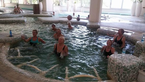 Miliou, Cyprus: Aqua aerobics class every Tuesday