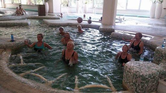 Милиу, Кипр: Aqua aerobics class every Tuesday