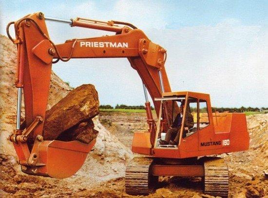 Streetlife Museum of Transport: Priestman Mustang 160 Excavator.