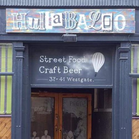 Shipley, UK: Hullabaloo
