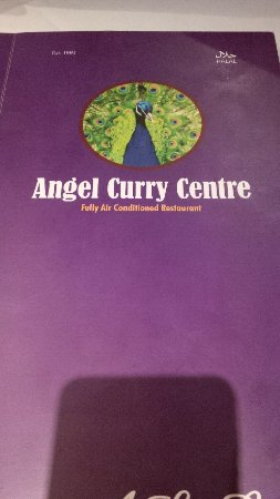 Menu Picture Of Angel Curry Centre London Tripadvisor