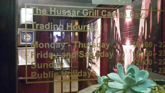 The Hussar Grill Camps Bay: 20180210_225330_large.jpg