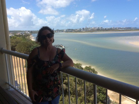 Gemini Resort: Beautiful big balconies to admire the view