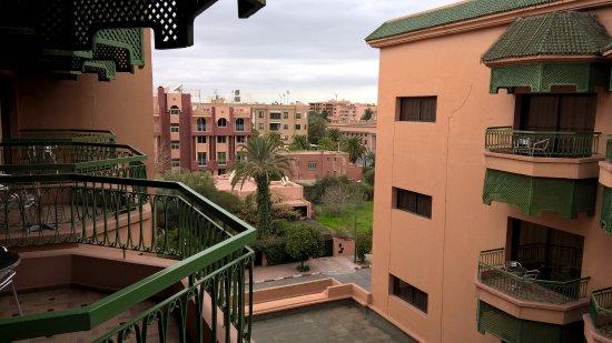 Royal Mirage Deluxe Marrakech: Вид с балкона