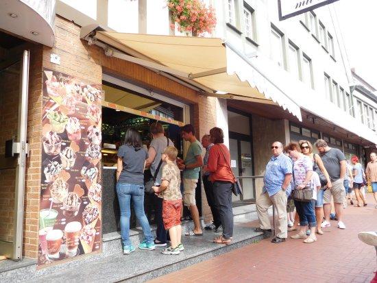Rodenberg, Deutschland: Der Straßenverkauf