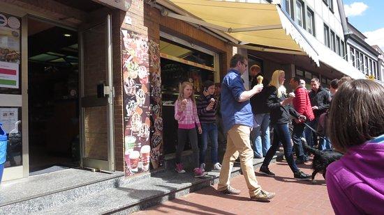 Rodenberg, Deutschland: Straßenverkauf