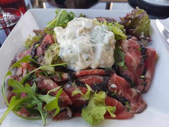 Oud-Zuilen, Países Bajos: Ribeye salade