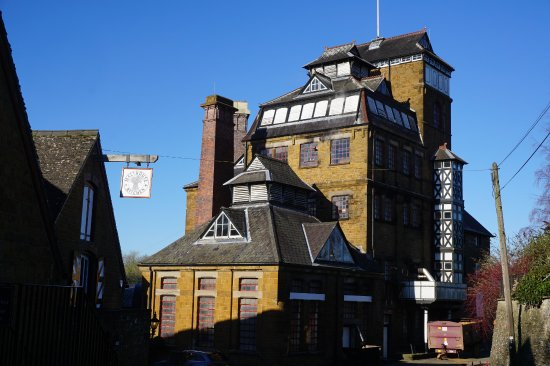 Hook Norton, UK: Amazing Architecture! Yes, you climb almost to the top.