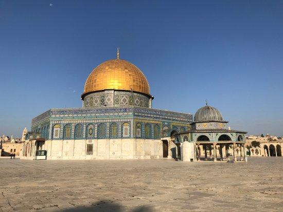 Cúpula de la Roca (al-Haram al-Sharif): Dome of the Rock...