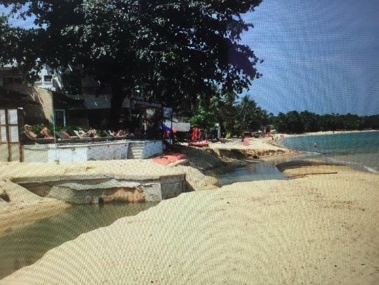 the hammock samui beach resort  la   belle plage   travers  e par la rivi  re pollu  e la   belle plage   travers  e par la rivi  re pollu  e   picture of the      rh   tripadvisor