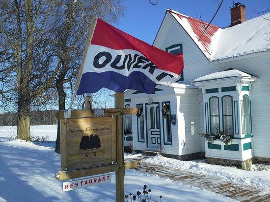 Saint-Armand, Canada: Auberge des Trois érables