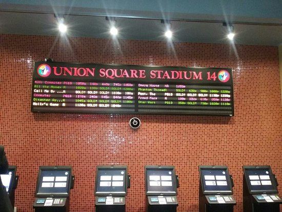 Find Ticket Prices for Regal Union Square Stadium 14 in New York, NY and report the ticket prices you paid. Theater Ticket Pricing Information is just one of the services that The BigScreen Cinema Guide offers to theaters. All theaters are able to participate in this service, but not all choose to do gg-sound.tkon: Broadway, New York, , NY.