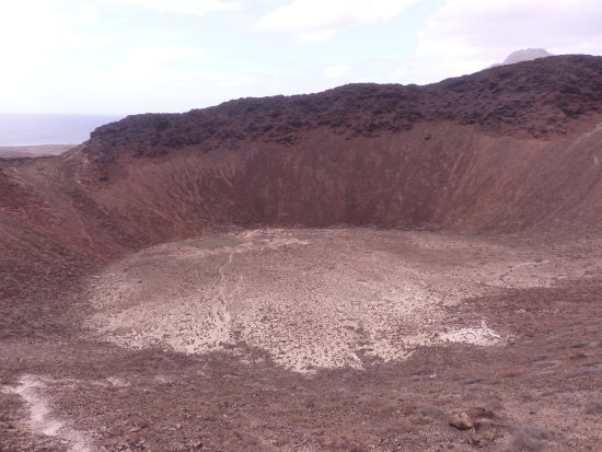 São Vicente, Cap Vert: Intérieur du volcan