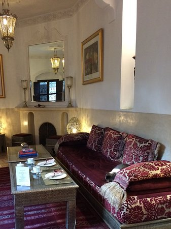 Riad Assakina: Very comfortable lounge