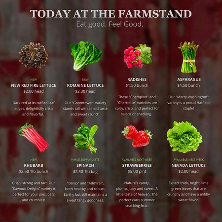Hatfield, MA: Visit www.bardwellfarm.com for the latest offerings!