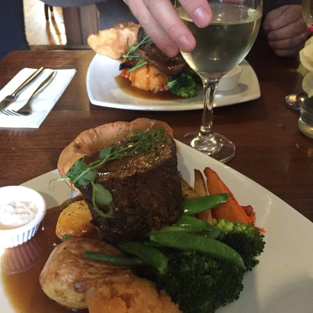Great Sunday Lunch.